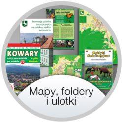 Mapy, foldery i ulotki o Kowarach