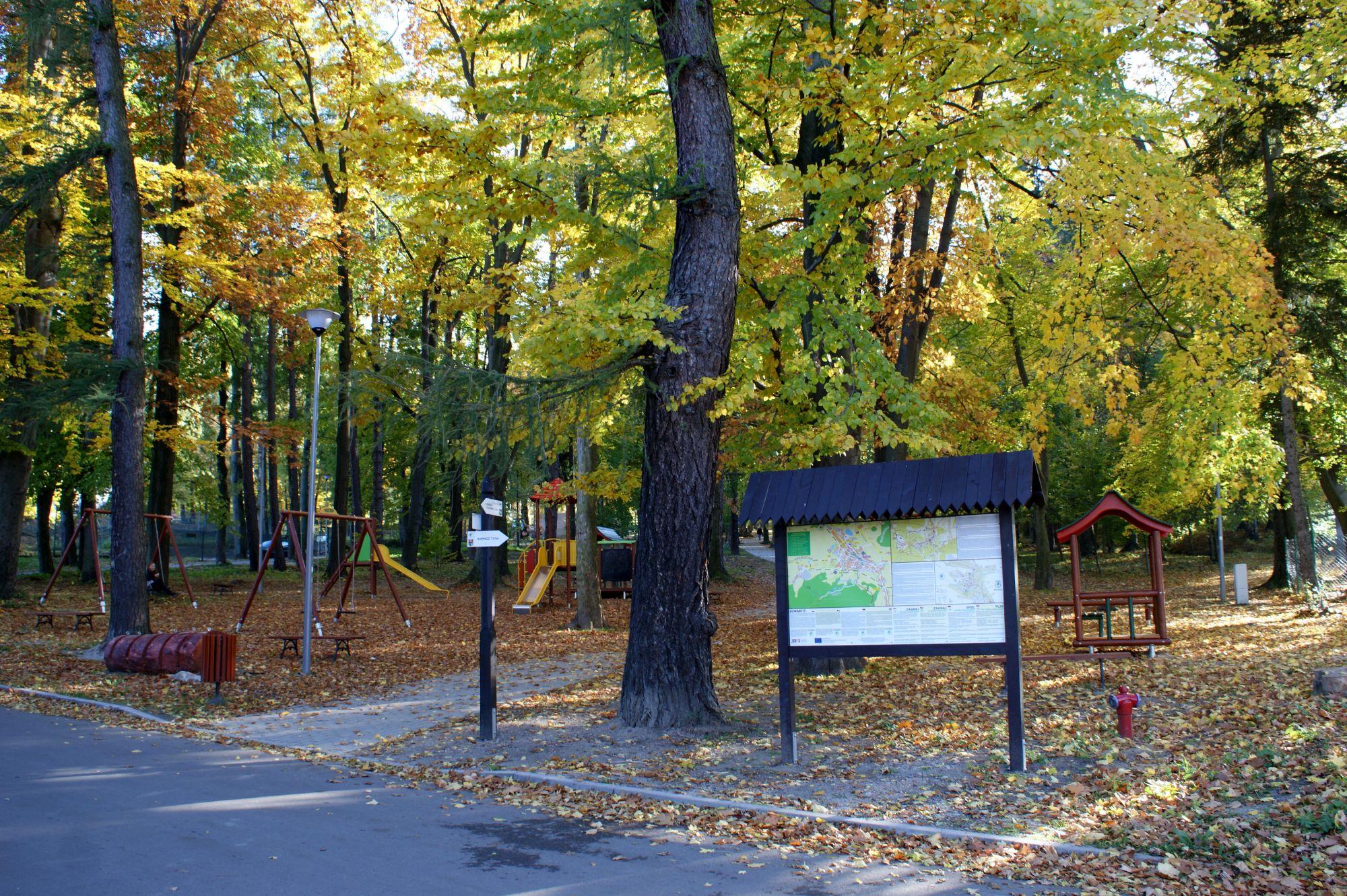 1. Leśny Park Miejski w Kowarach
