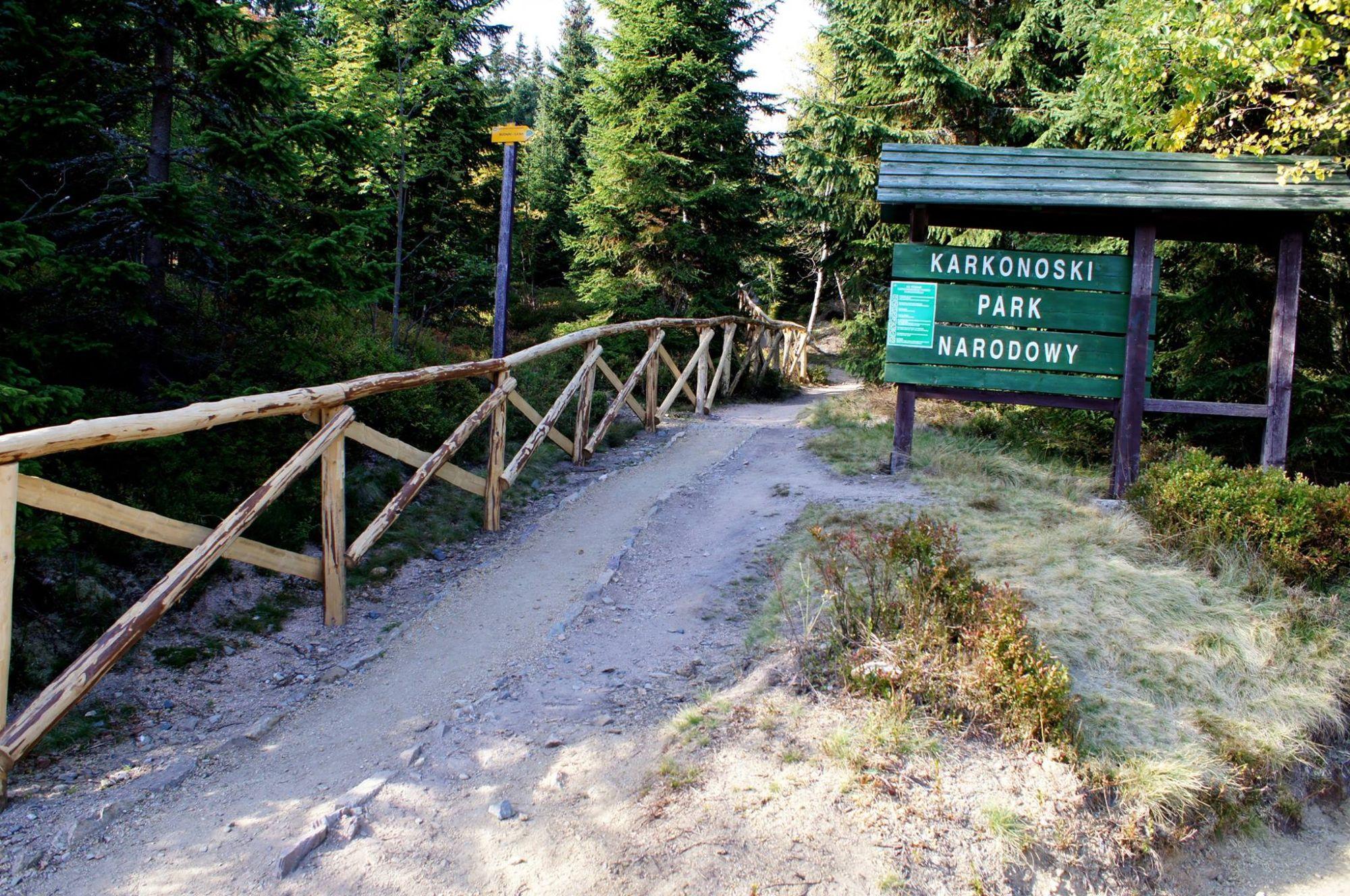 4. Przełęcz Okraj Kowary-Mala Upa