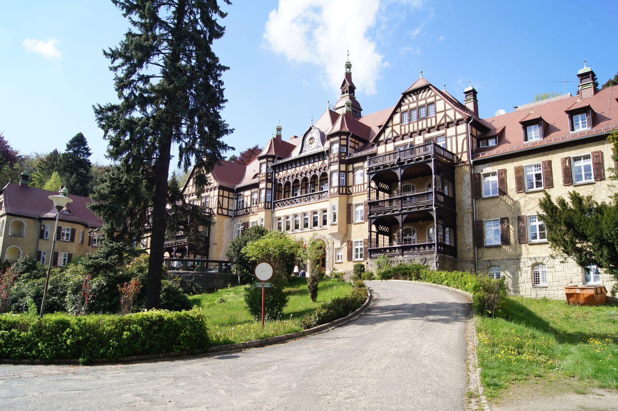 8. Szpital Wysoka Łąka w Kowarach