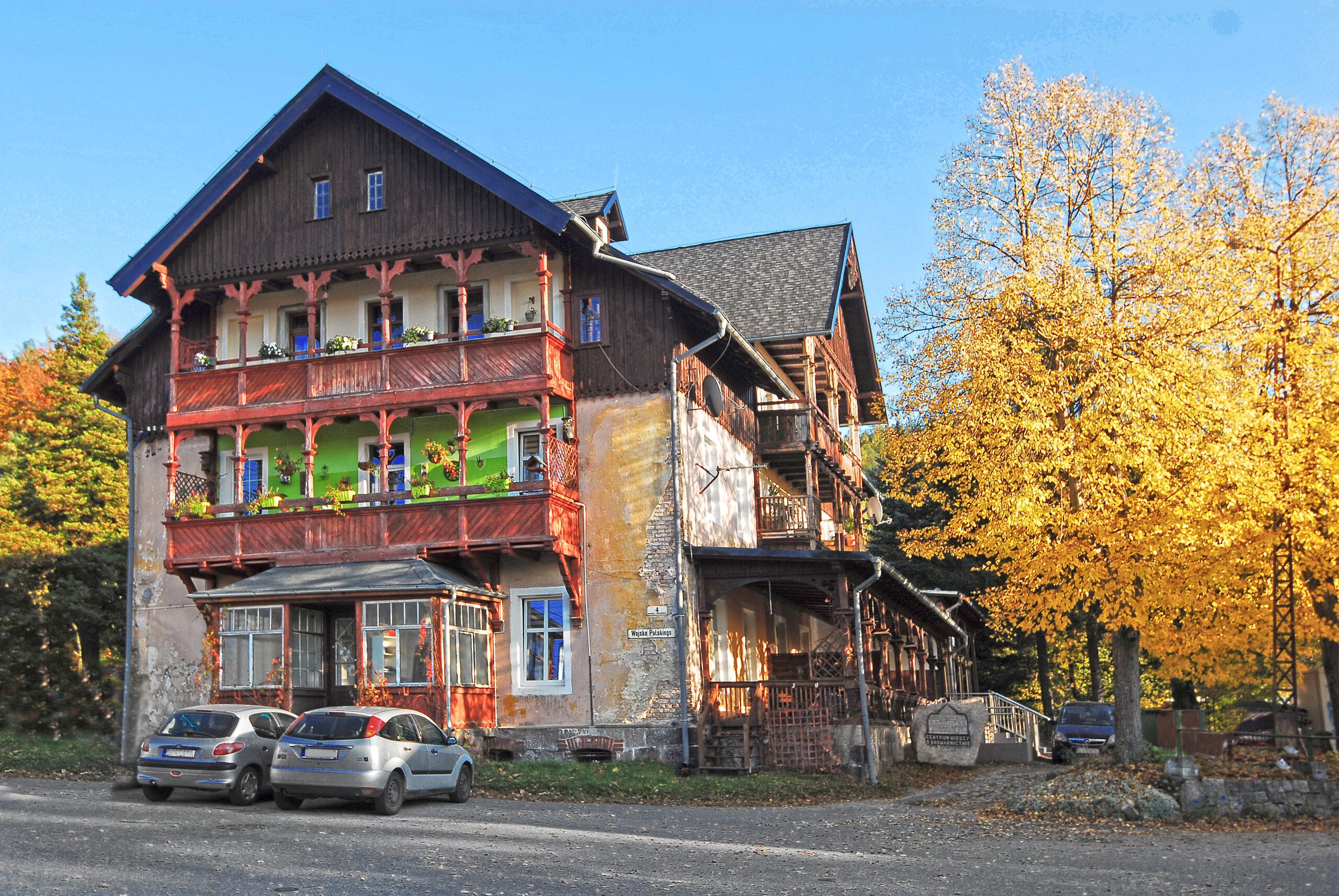 Hotel Wilhelma – zdjęcie współćzesne